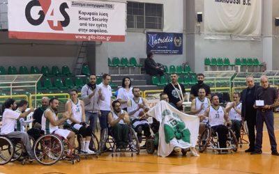 Παναθηναϊκός-Δωδεκάνησος 41-58: Μόνο περηφάνια!